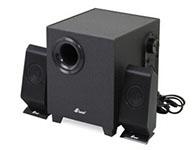 三诺H-111至强版音箱类型: 电脑音箱,音箱系统: 2.1声道 有源无源: 有源,调节方式: 旋钮